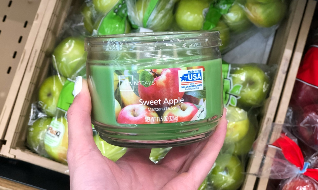Mainstays Sweet Apple candle