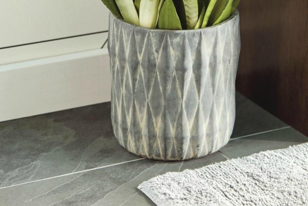 Montauk Black 12_ x 24_ Gauged Slate Floor and Wall Tile