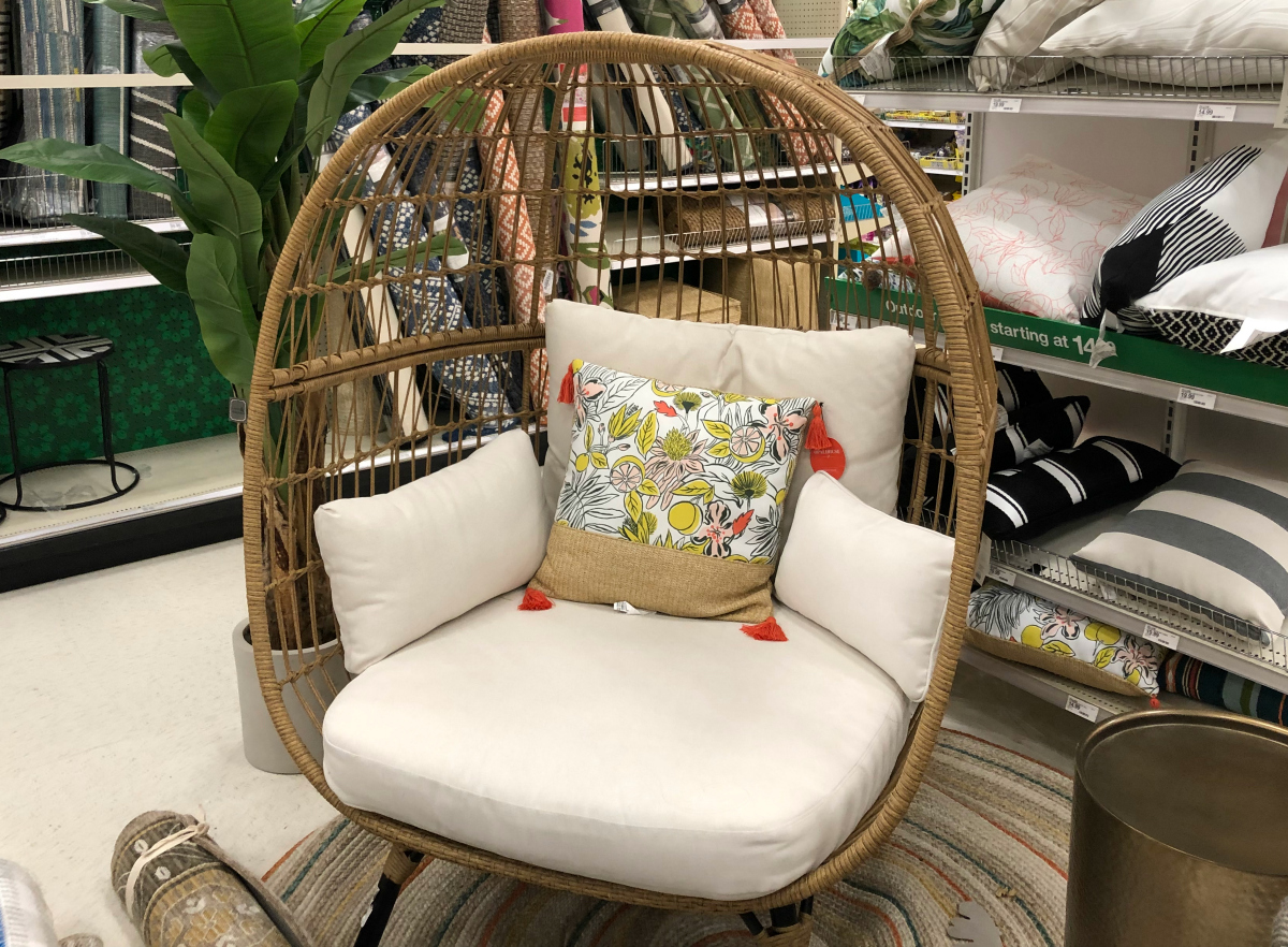 Big Savings On Trendy Patio Furniture At Target Egg Chairs And More