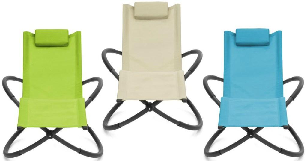 Orbital anti-gravity chairs