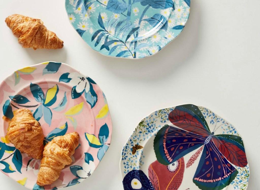 Paule Marrot Francaise Dessert Plate