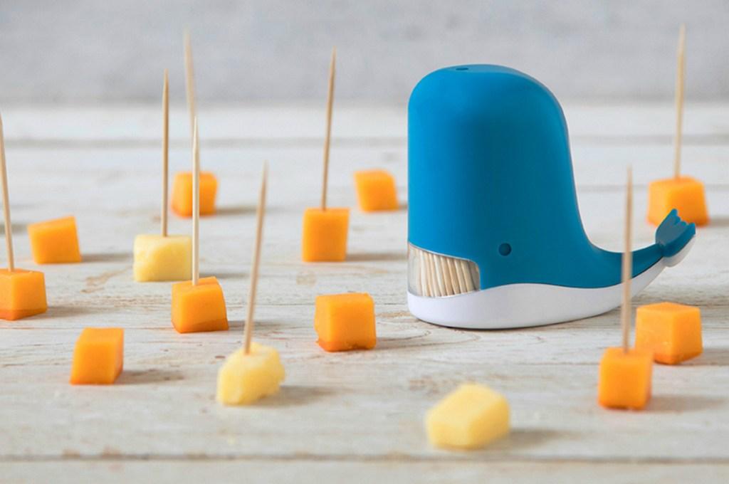 Peleg Design Blue Jonah Whale Toothpick Dispenser