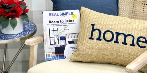 FREE Real Simple Magazine Subscription (No Strings Attached!)