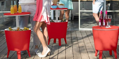 This Cooler Table Will Make Entertaining Fun & Easy This Summer