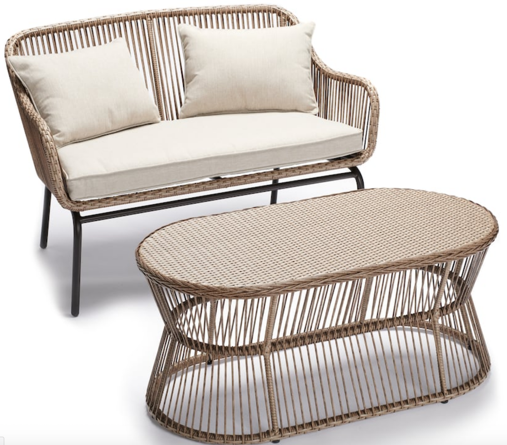 Kohl's Sonoma wicker 2-piece patio set