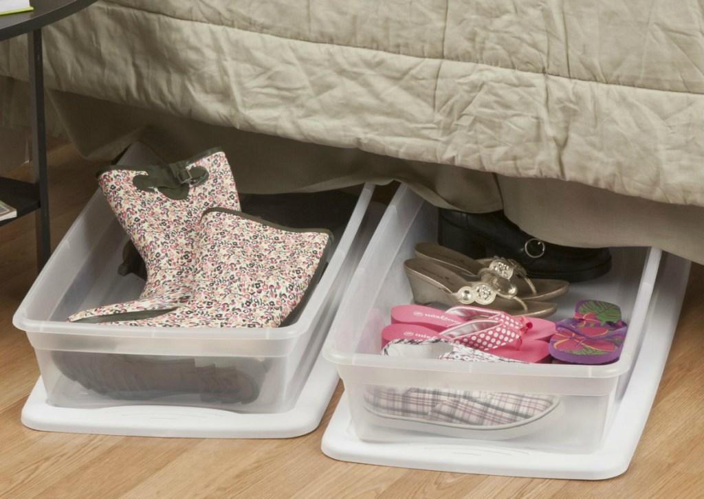Sterilite 41-quart Under Bed Box