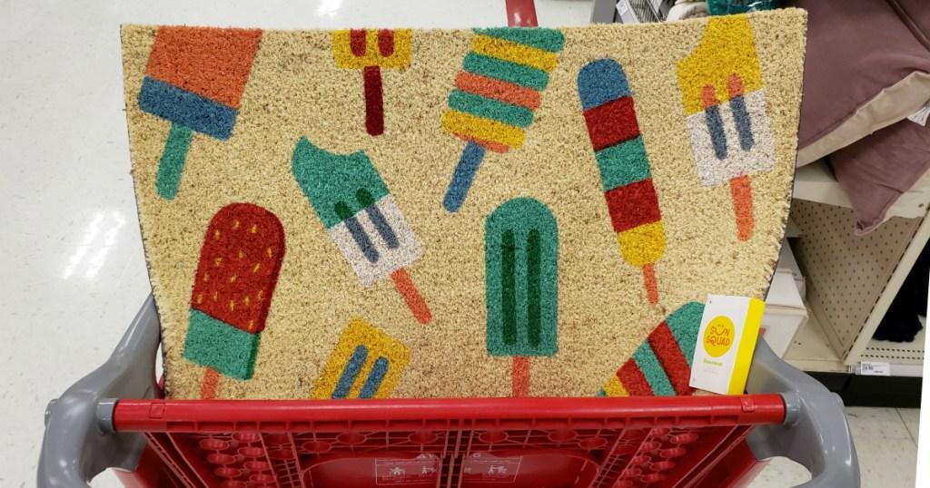 Sun Squad Popcicle Doormat