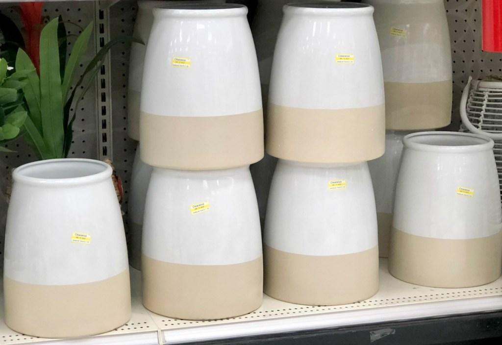 Threshold Decorative White Vase