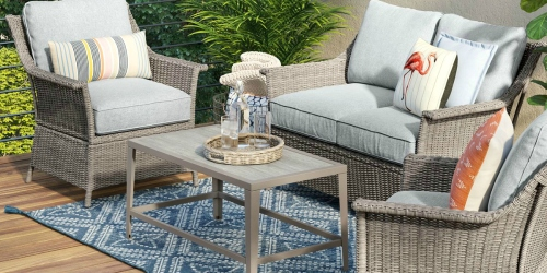 Get Your Patio Ready for Summer Entertaining with These Stackable Savings at Target