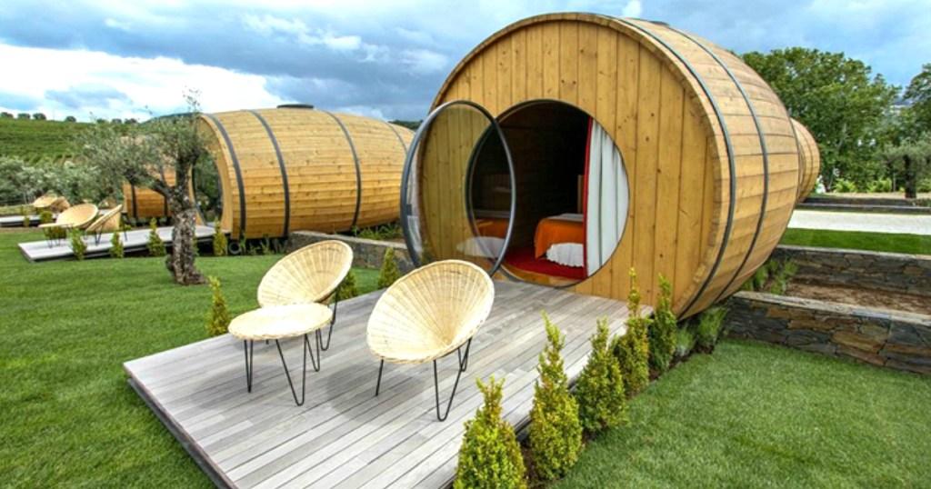 Wine Barrel Hotels in Portugal