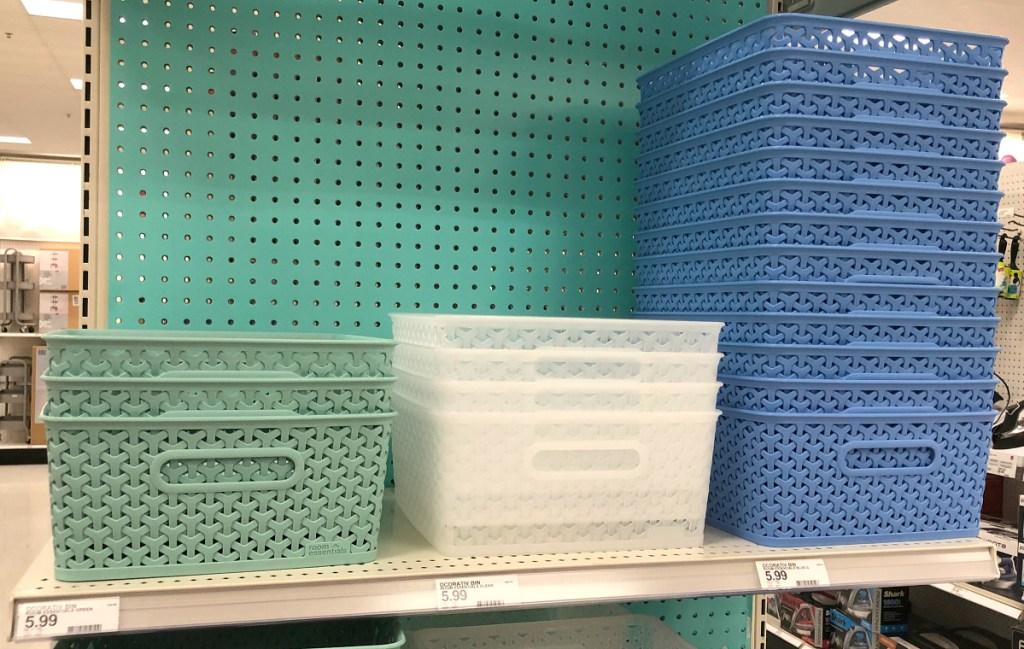 Y-Weave baskets at Target