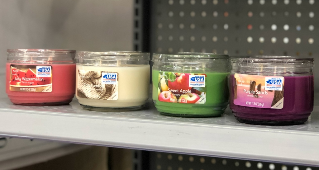 best-selling Mainstays candles Walmart