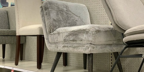 Faux Fur Chair, Stools, & More Furniture on Sale at Target.com