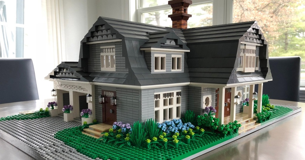 You Can Order A Replica Of Your Home Made From Legos Hip2behome