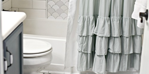 How to Easily Clean Your Shower Curtain and Liner