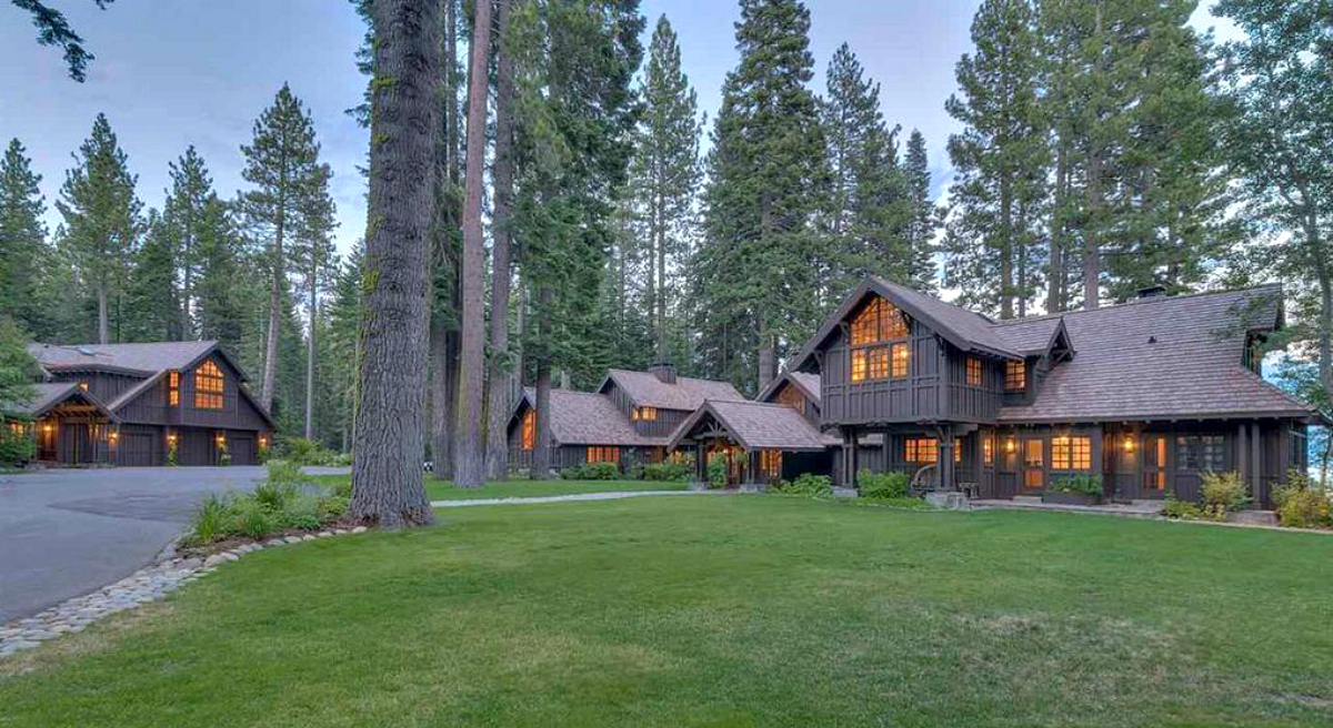 mark zuckerberg lake tahoe second home