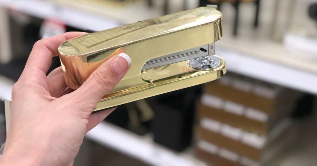 project 62 gold stapler
