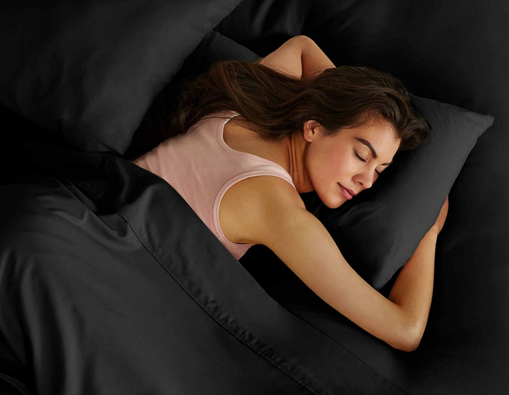 Bare Home 1,800 Ultra-Soft Microfiber Bed Sheet Set