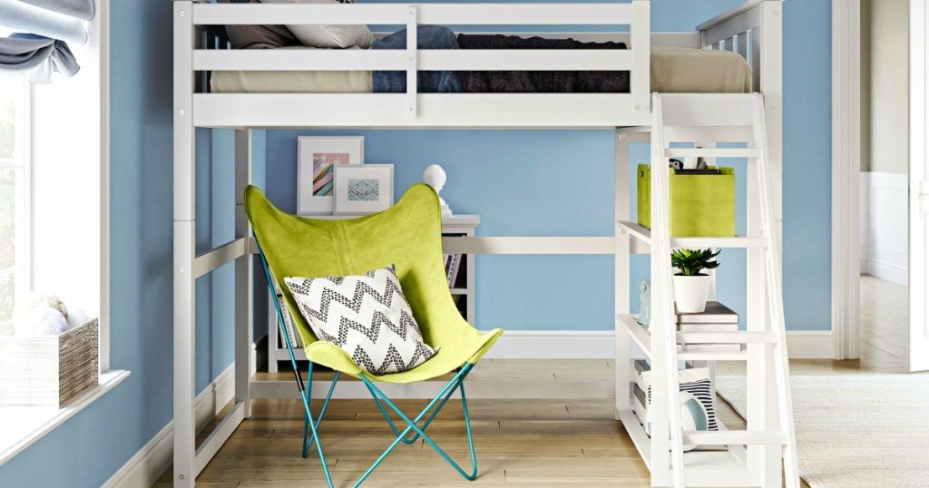 This Loft Bed for Kids is Space Saving & Highly Rated