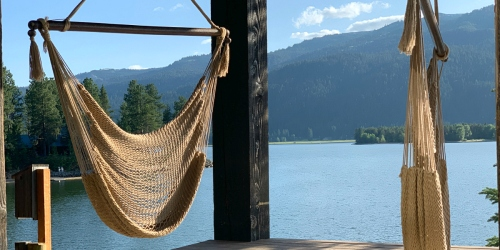 Amazon Sells This Highly Rated Hanging Hammock Chair & It's Amazing