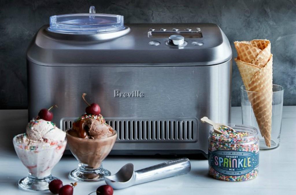 Breville 1.5-Quart Smart Scoop Ice Cream Maker