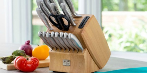 Highly Rated Chicago Cutlery Knife Sets Are 40% Off at The Home Depot