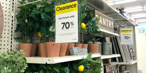 Shop the Semi-Annual Home Clearance Event at Michaels and Score Up to 70% Off!