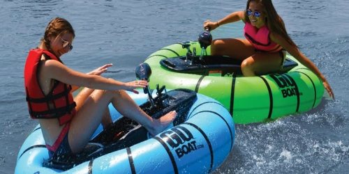 This Motorized Pool Float Lets You Play Bumper Boats
