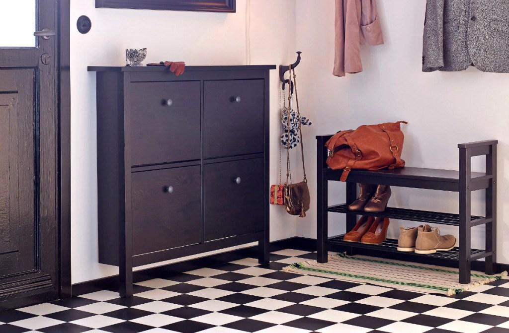 IKEA HEMNES shoe organizer cabinet