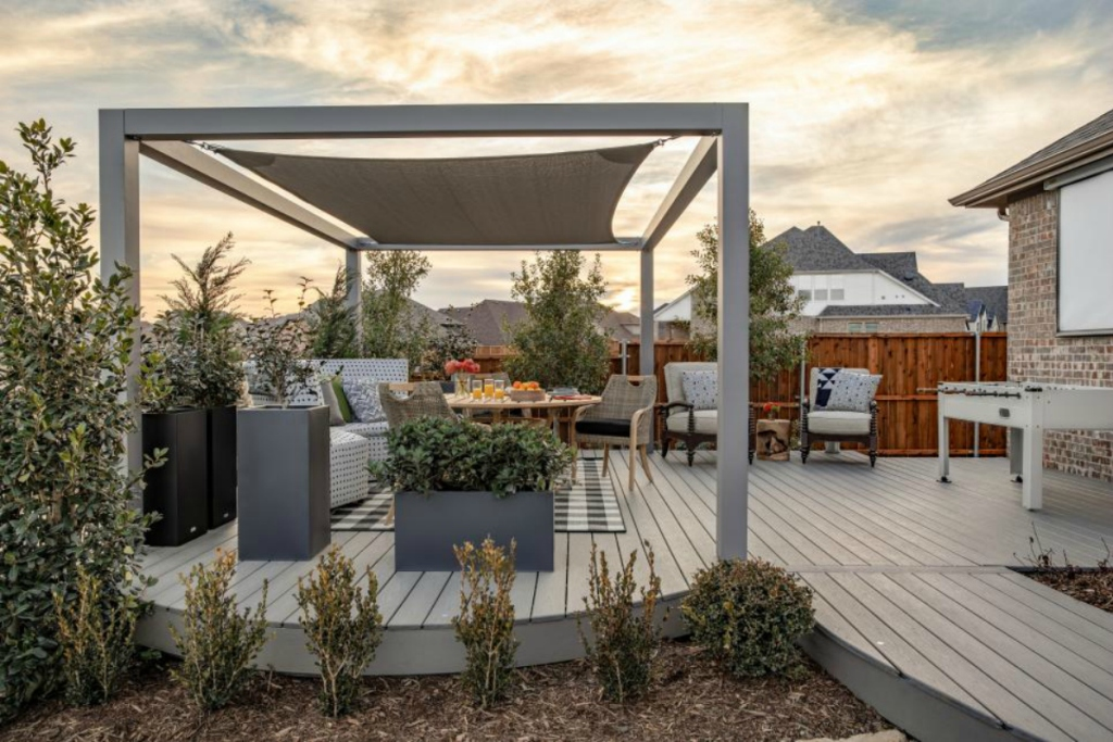 HGTV outdoor patio