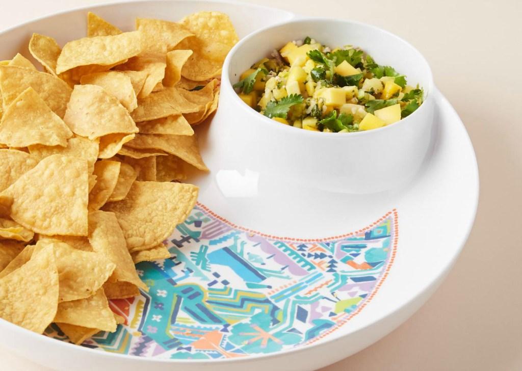 Hailee Melamine Chip & Dip