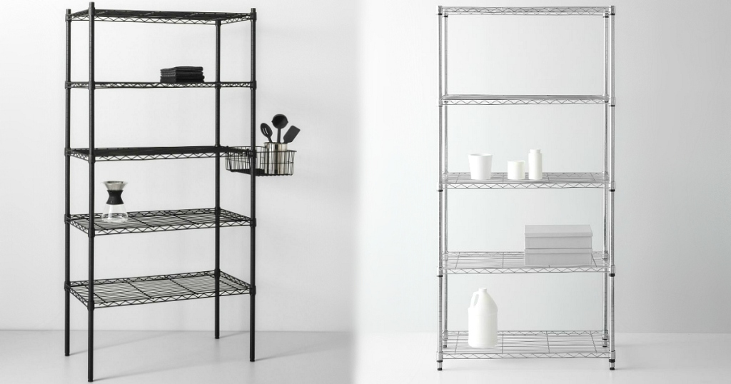Made By Design 5-Tier Wire Shelving Units