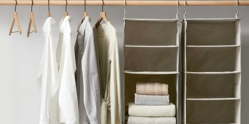 Stock Up on Wood Hangers at Target.com (as Low as 50¢ Each!)