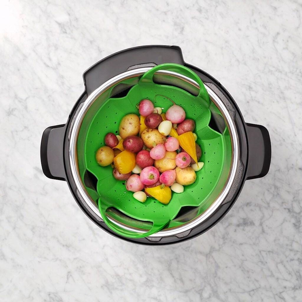 OXO pressure cooker steamer
