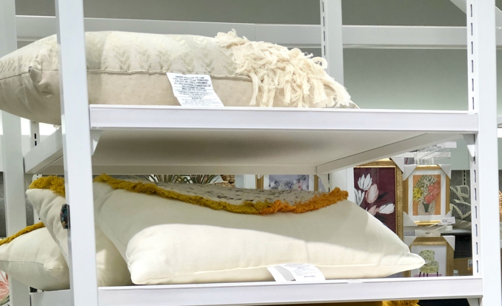 Opalhouse Yarn Applique Oversized Lumbar Throw Pillow