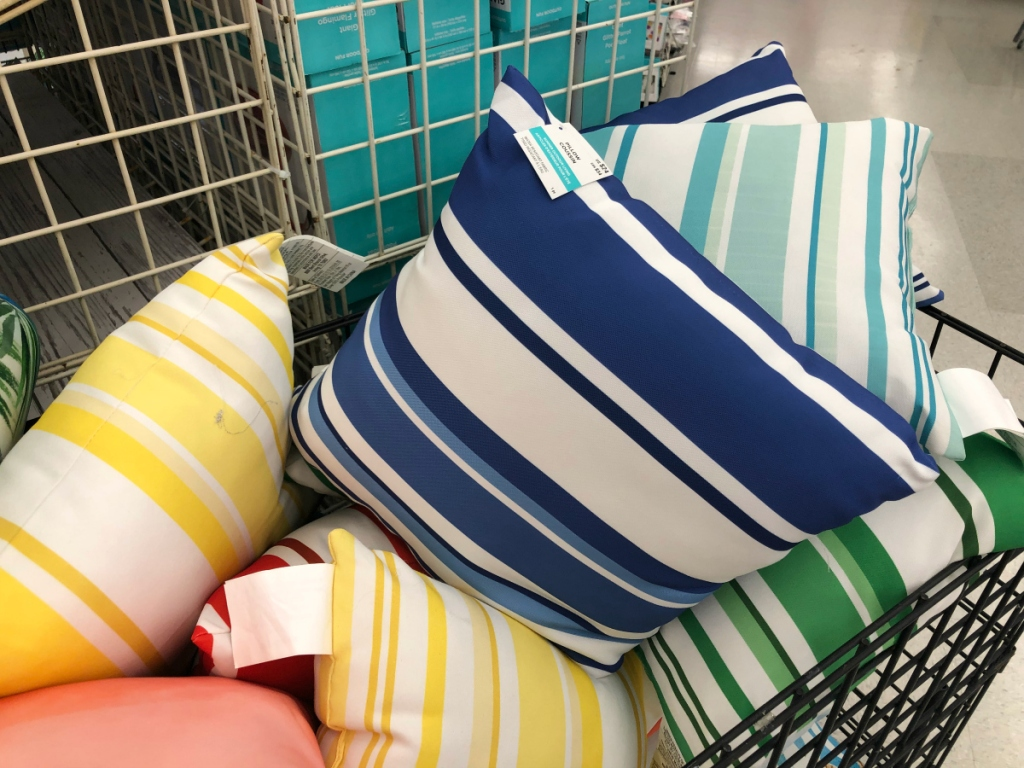 Pillows at Michaels