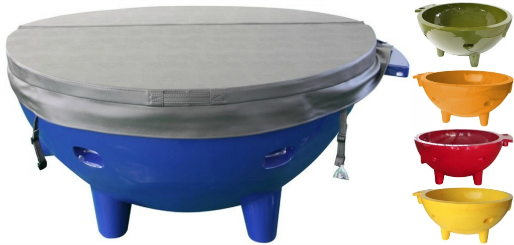 portable hot tub colors