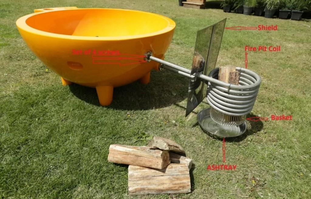 Portable hot tub accessories