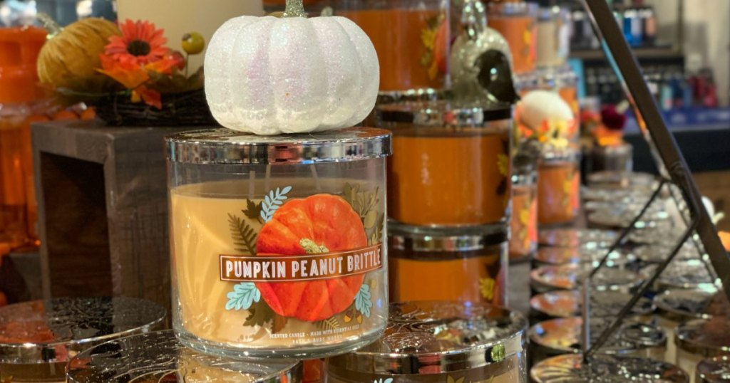 Bath & Body Works Fall Candle Scents