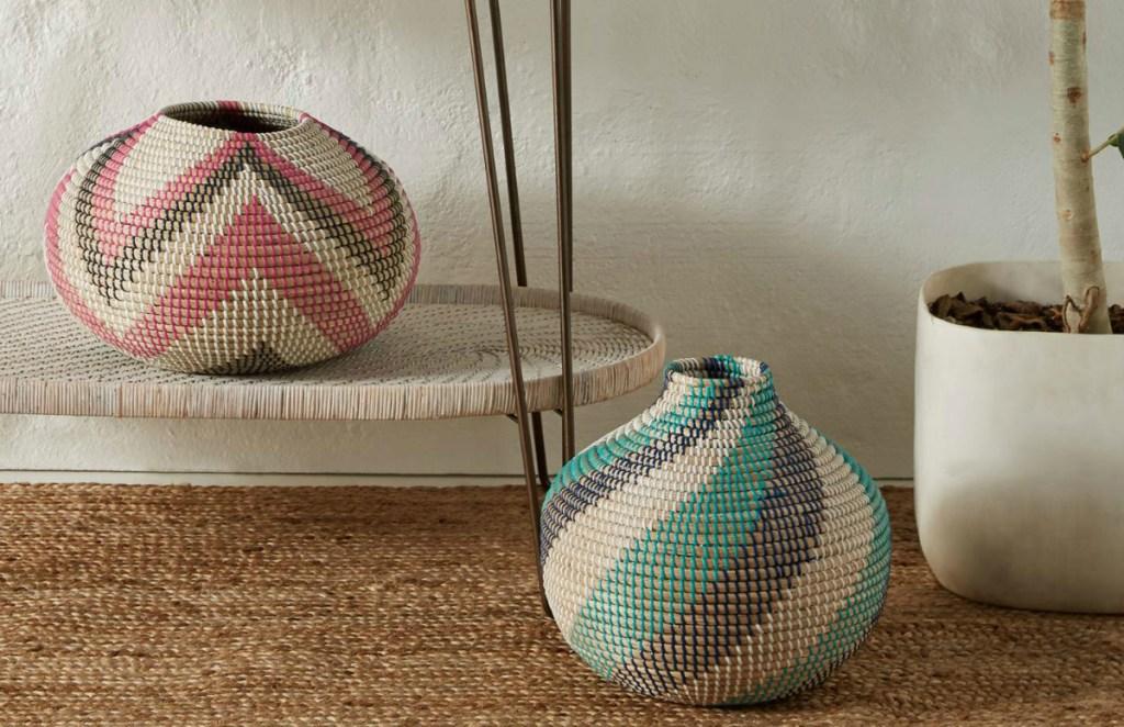 Rosario Pink Vase