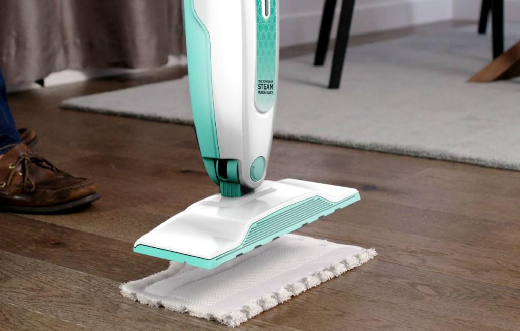 Shark Steam Mop on floor