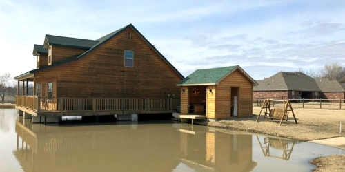 Oklahoma Fisherman's Dream Home Features Fishing Hole in Living Room (And It's For Sale)
