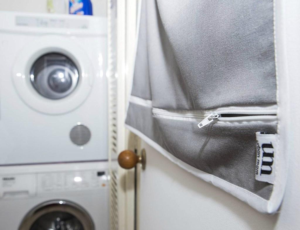 Urban Mom Over-the-Door Hanging Laundry Hamper