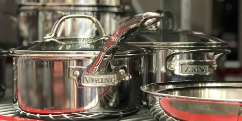 We Found Affordable, 5-Star Rated Stainless Steel Viking Cookware at Sam's Club