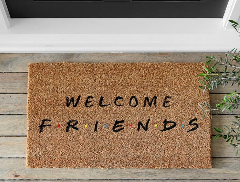 Welcome-Friends-Door-Mat