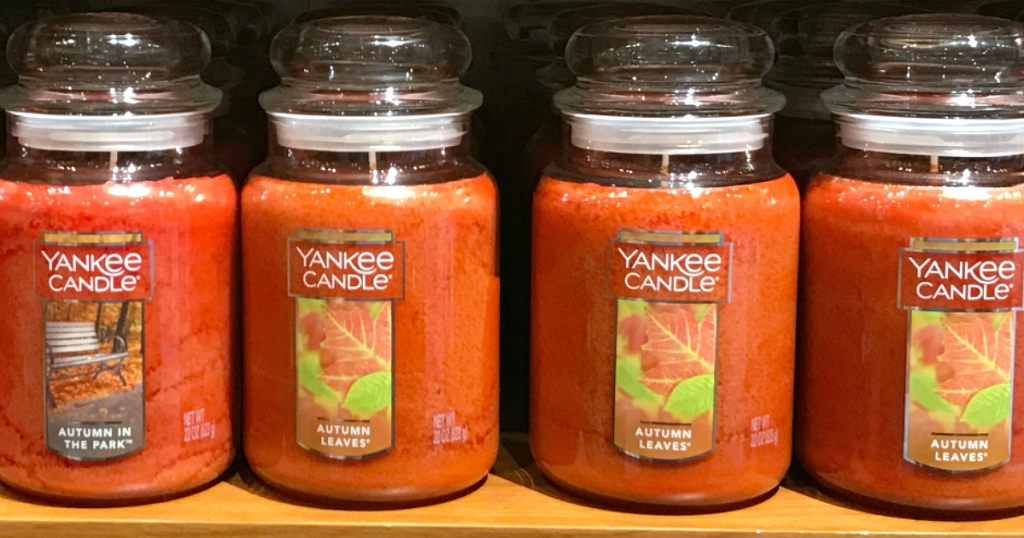 Yankee Candle Autumn scents