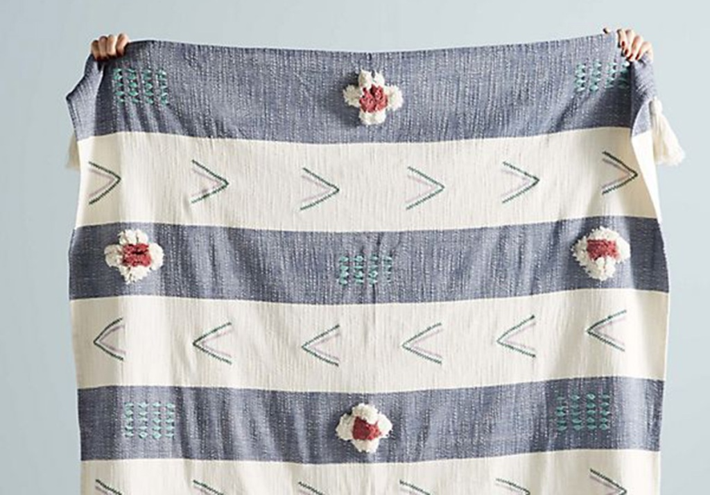 anthropologie blanket