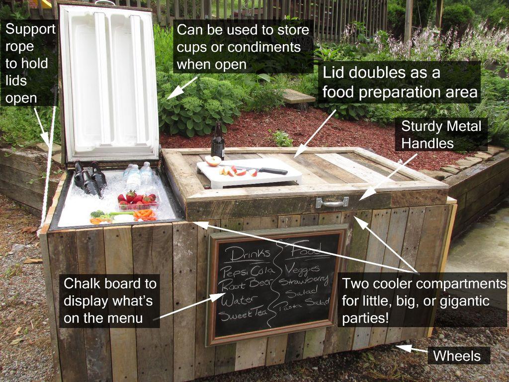 backyard cooler