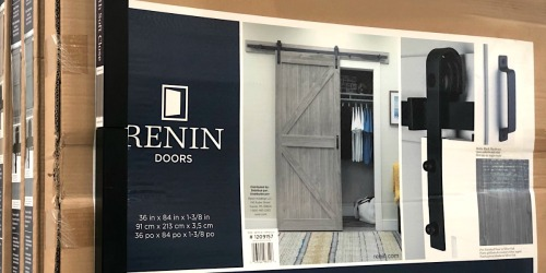 Complete Farmhouse Barn Door Kit Only $249.99 at Costco