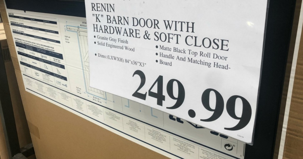 renin barn door costco